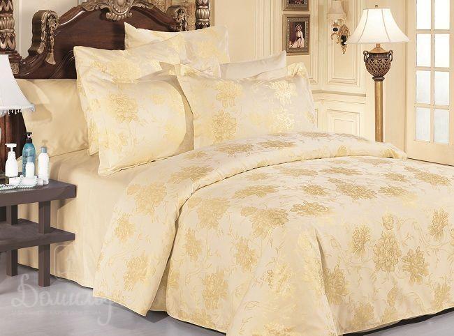Постельное белье Beatrice Cream, 1,5-спальное