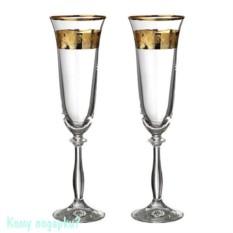 Набор бокалов для шампанского «Анжела Love»