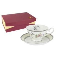 Набор из 6 чайных пар Сад цветов Emerald