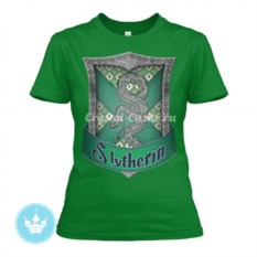 Женская футболка Слизерин