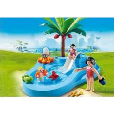 Конструктор Playmobil Аквапарк: Детский бассейн с горкой
