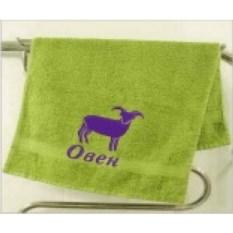 Махровое полотенце Знак зодиака: овен