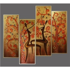 Картина Swarovski Африканский танец, 4456 кристаллов