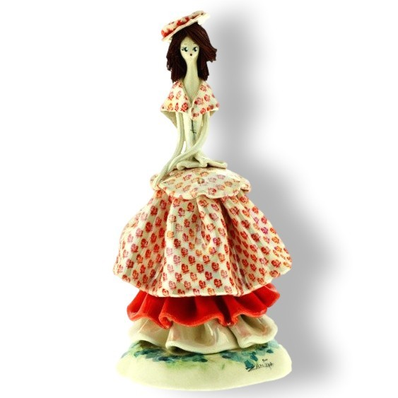 Статуэтка из фарфора Маленькая леди ZamPiva
