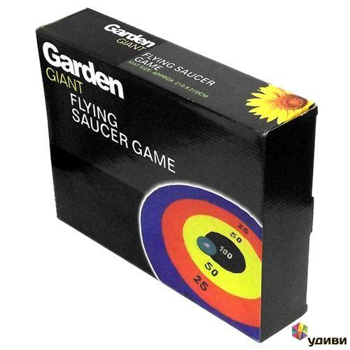 Игра Garden Летающая тарелка