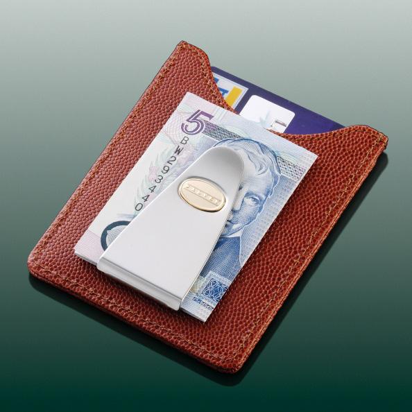 Кредитница с клипом для денег