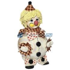 Фарфоровая статуэтка Клоун-копилка от Zampiva