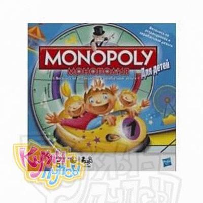 Настольная игра Монополия для детей
