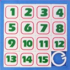 Синяя головоломка Пятнашки