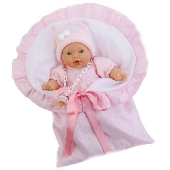 Кукла-младенец Вито (в розовом)