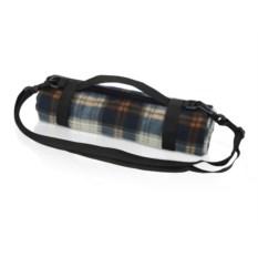 Флисовый плед для пикника с непромокаемой подкладкой