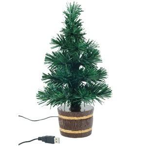 Новогодняя елка с оптоволоконной подсветкой
