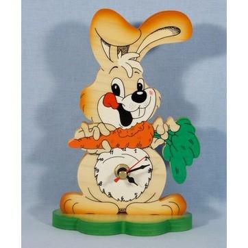 Часы настольные «Зайка»