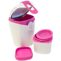 Бело-розовый ланч-бокс Energy Booster