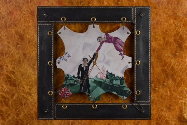 Часы из кожи Марк Шагал