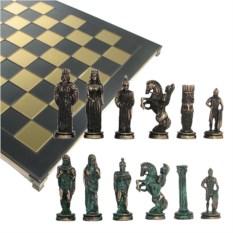 Металлический шахматный набор Александр Македонский