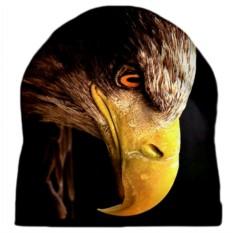 Шапка с 3D печатью Голова орла