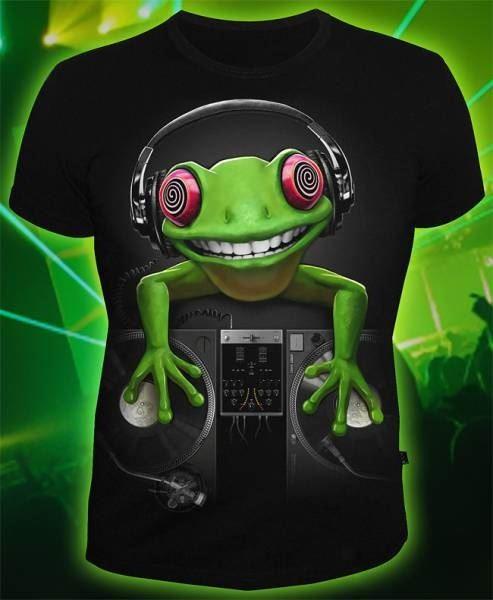 Мужская футболка Crazy Frog
