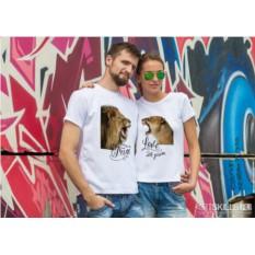 Парные футболки «Львы»