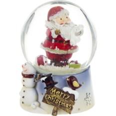 Фигурка Новогодний шар с Дедом Морозом