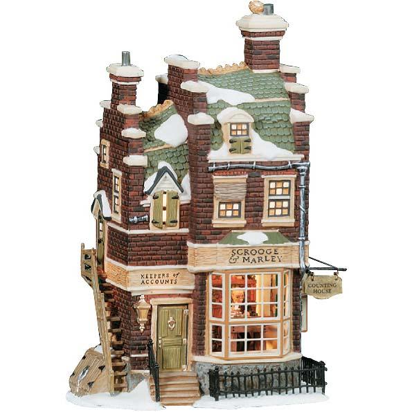 Новогодний сувенир «Дом бухгалтера»