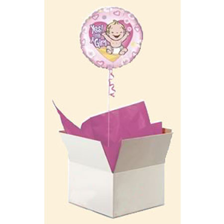 Шар в коробке «Малыш - девочка»