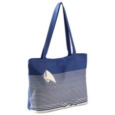Синяя пляжная сумка Sea