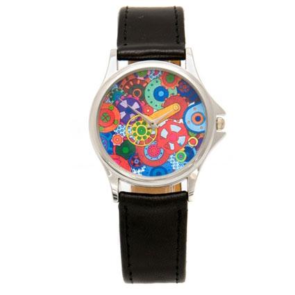 Наручные часы «Цветной механизм»