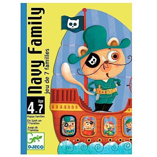 Карточная игра Djeco Морская семейка
