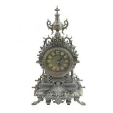 Большие настольные часы (высота 43 см, цвет: медь)