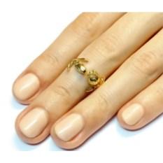 Кольцо Имя розы (золото, 585 проба)