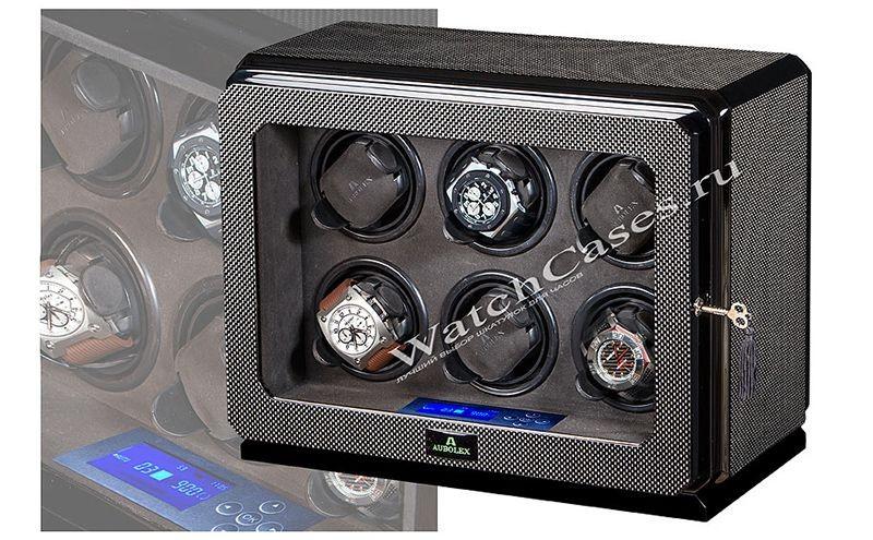 Шкатулка для хранения и подзавода часов (тайммувер), металл