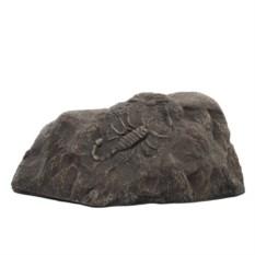 Декоративный камень со скорпионом
