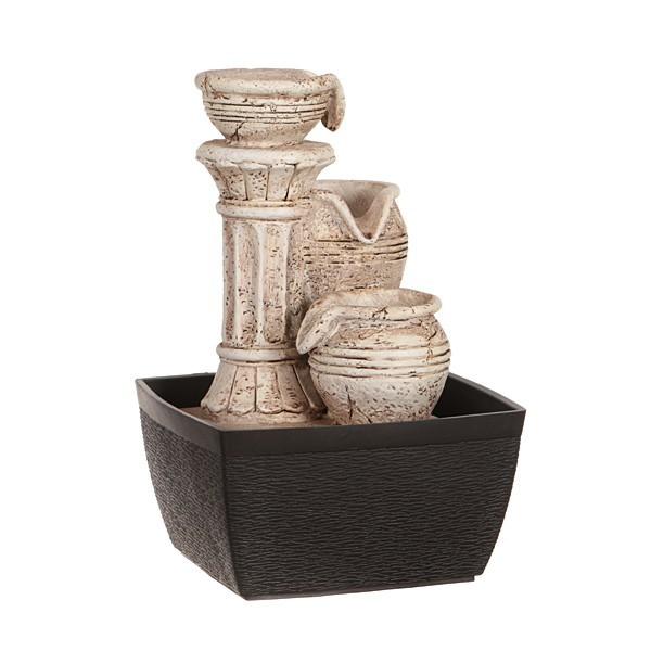 Настольный фонтан Античная колонна
