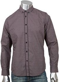 Рубашка Merc Shane, коричневая