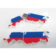 Флешка Карта России на 4 Gb