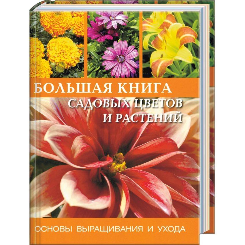 Книга Большая книга садовых цветов и растений