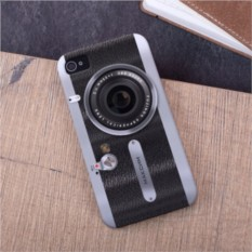 Именной чехол для iPhone «Фотоаппарат»