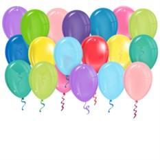 Латексные шары под потолок Ассорти