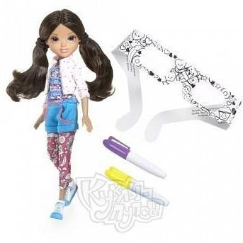 Кукла Moxie Модница с маркерами (3D), Софина