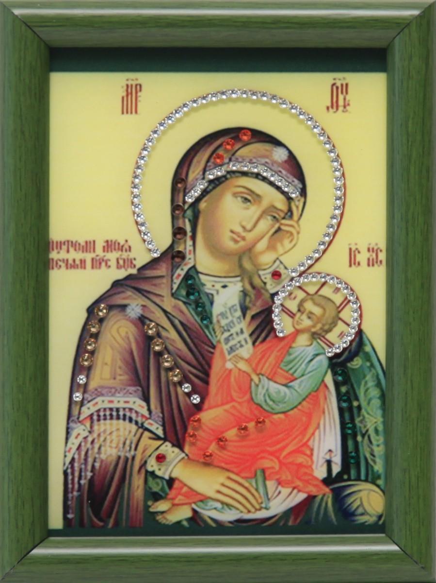 Малая икона Божией Матери Утоли мои печали