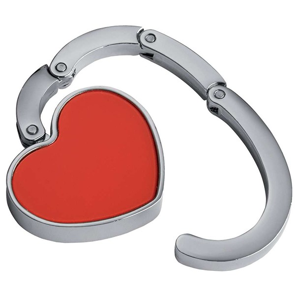 Держатель-крючок для сумок Сердце