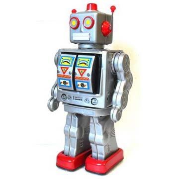 Игрушка -робот Электрон Стальной