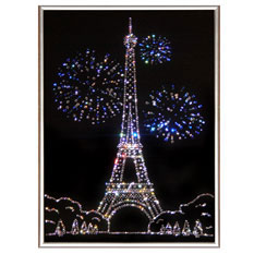 Картина с кристаллами Swarovski «Париж»