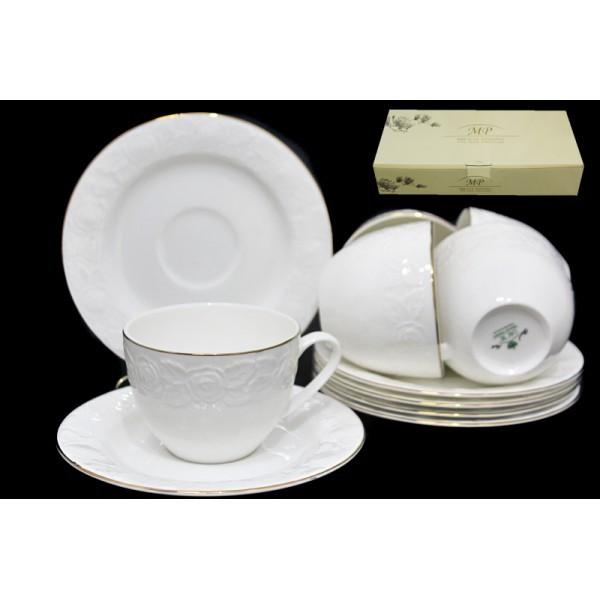 Чайный набор Белая Роза