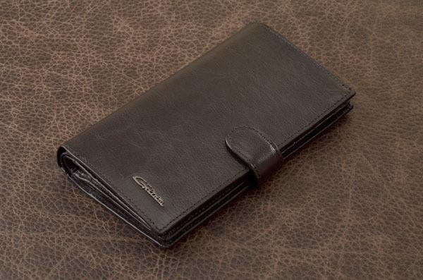 Портмоне. Коллекция G.Ferretti (коричневый, кожа)