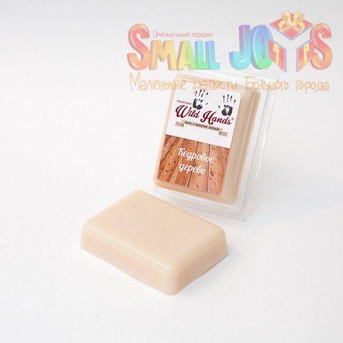 Мыло ручной работы с запахом Кедр