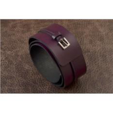Фиолетовый ремень G.Kazhan
