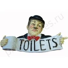 Панно Toilets