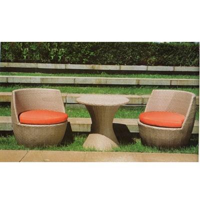 Комплект плетеной мебели из искусственного ротанга